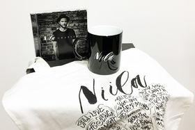 Niila, Gewinnt ein Fanpaket mit allerlei Niila-Merchandise