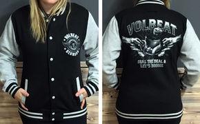 Volbeat, Passend zum Winter: Gewinnt eure Volbeat Jacke im College-Stil