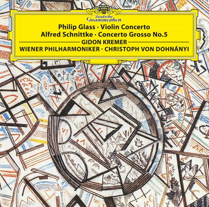 GLASS: Violin Concerto / SCHNITTKE: Concerto grosso No. 5