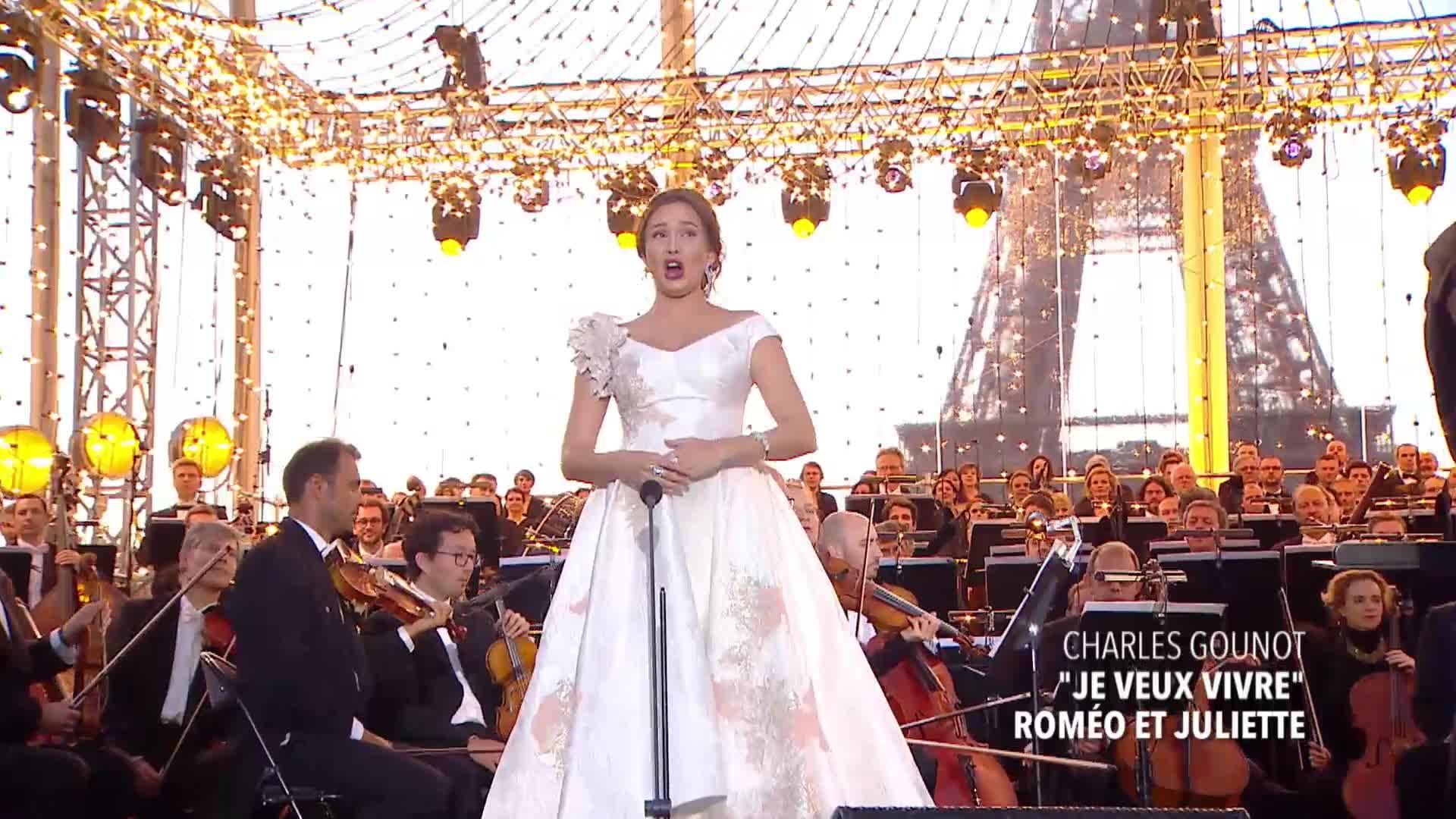 Aida Garifullina, Charles Gounod - Ah, je veux vivre dans ce rève (Montage)