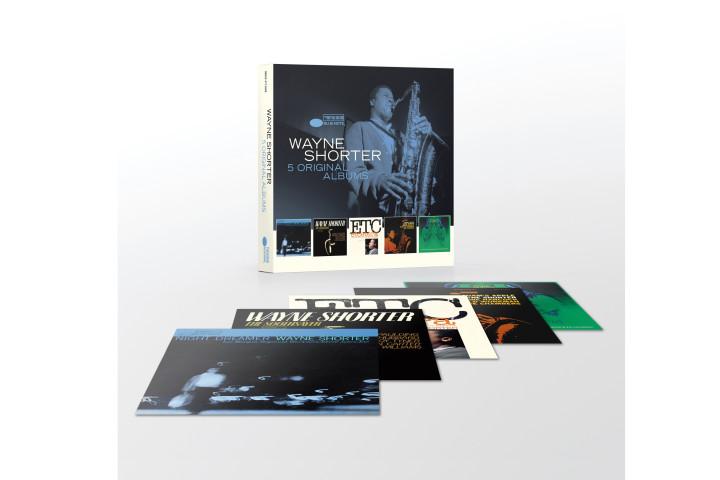 Wayne Shorter - 5 Original Albums