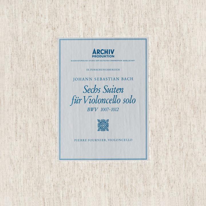 Bach: 6 Cello Suites BWV 1007, 1008, 1009, 1010, 1011 & 1012
