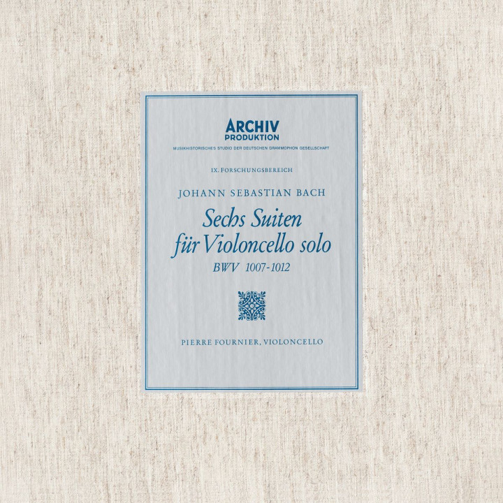 Bach: 6 Cello Suites BWV 1007, 1008, 1009, 1010, 1011 & 1012