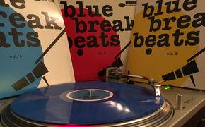 JazzEcho-Plattenteller, Blau, Rot, Gelb – die Break Beats sind zurück