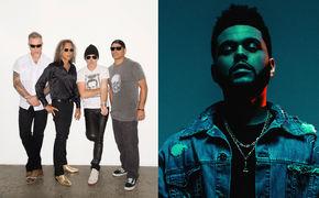 Metallica, Live bei den Grammys 2017: The Weeknd, Daft Punk und Metallica auf der Bühne