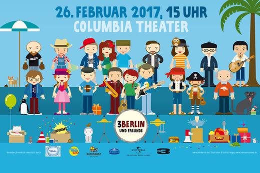 3Berlin Konzert News