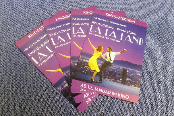 Soundtrack La La Land, Gewinnt hier Tickets für das Kino-Highlight La La Land