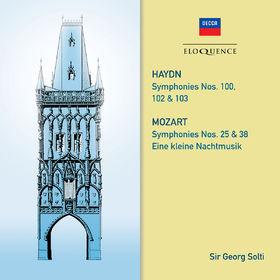 Sir Georg Solti, Haydn: Symphonies 100, 102, 103. Mozart: Symphonies 25 & 38; Eine kleine Nachtmusik, 00028948090815