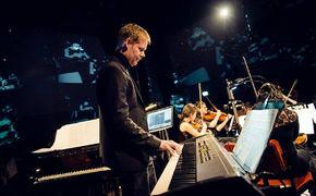 Max Richter, Beglückender Auftritt – Max Richter in der Yellow Lounge
