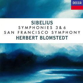 Herbert Blomstedt, Sibelius: Symphonies Nos. 3 & 6, 00028947893745