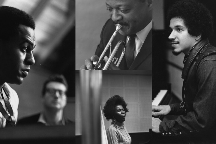 Alice Coltrane, Keith Jarrett, Archie Shepp, Clark Terry by Chuck Stewart