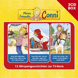 3-CD Hörspiel- und Liederboxen, Meine Freundin Conni - 3-CD ..., 00602557433159
