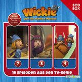 Wickie, 3-CD Hörspielbox zur neuen TV-Serie Vol. 3, 00602557433135
