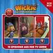 3-CD Hörspiel- und Liederboxen, Wickie - 3-CD Hörspielbox zur neuen TV-Serie (CGI) Vol. 3, 00602557433135