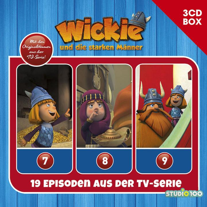 3-CD Hörspielbox zur neuen TV-Serie (CGI) Vol. 3