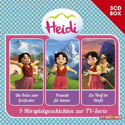 3-CD Hörspiel- und Liederboxen, Heidi - 3-CD Hörspielbox ..., 00602557433142