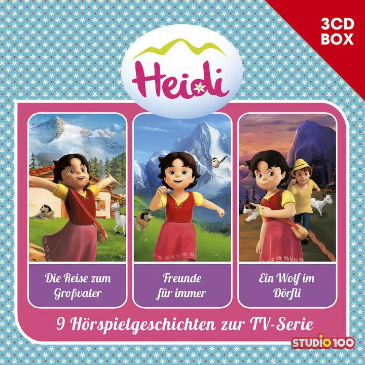 Heidi - 3-CD Hörspielbox Vol. 1 (CGI)
