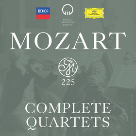 Mozart 225 - Complete Quartets, 00028948318315