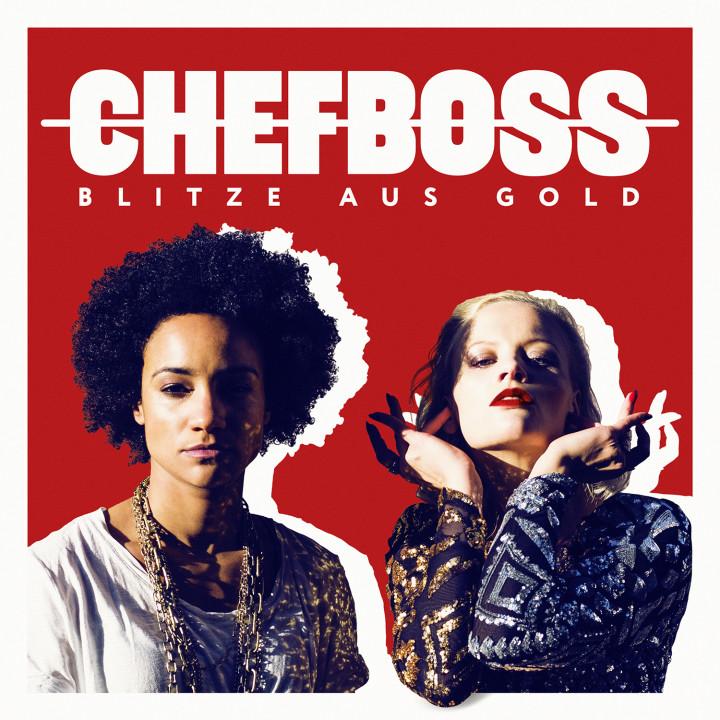 """Chefboss """"Blitze aus Gold"""" Cover"""