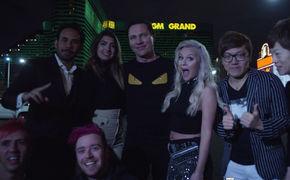 Tiesto, Das neue Video zum Track On My Way: Die weltweit angesagtesten Youtuber feiern mit Tiesto