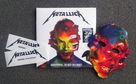 Metallica, Vinyl, Masken und Sticker: Gewinnt ein Metallica-Fanpaket