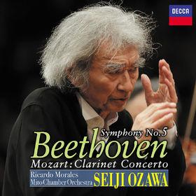 Seiji Ozawa, Beethoven: Symphony No.5, Mozart: Clarinet Concerto, 00600406787996