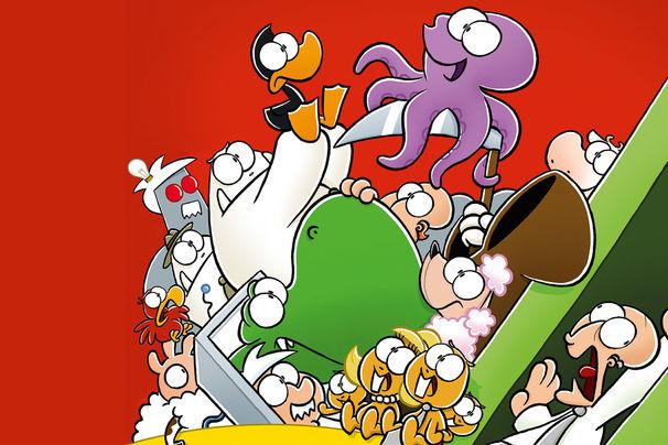 Nichtlustig, Joscha Sauers Nichtlustig-Cartoons erstmals auf DVD