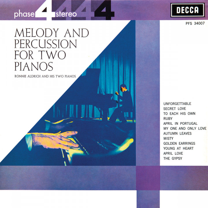 Melody & Percussion For Two Pianos