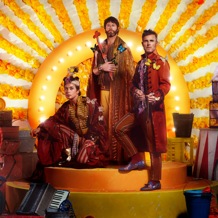 Take That – Wonderland Album Cover 2017
