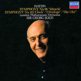 Sir Georg Solti, Haydn: Symphonies Nos. 96 Miracle & 101 The Clock, 00028948319497