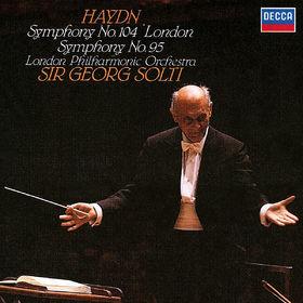 Sir Georg Solti, Haydn: Symphonies Nos. 95 & 104, 00028948319480