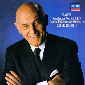 Sir Georg Solti, Haydn: Symphonies Nos. 102 & 103, 00028948319510