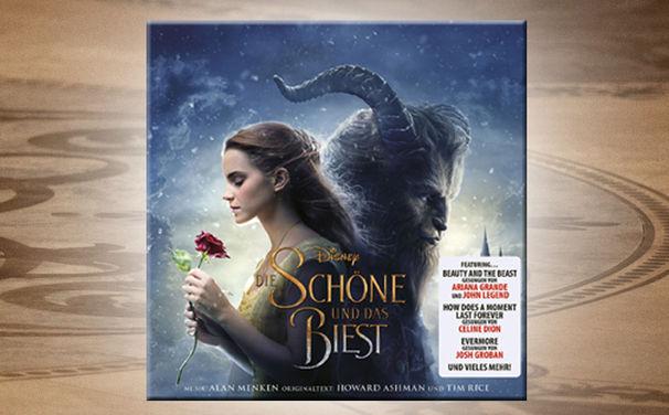 Die Schöne und das Biest, Der Soundtrack zu Die Schöne und das Biest überzeugt mit viel Gefühl