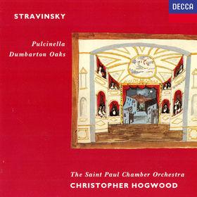 Christopher Hogwood, Stravinsky: Pulcinella; Dumbarton Oaks / Gallo: Sonatas / Pergolesi: Sinfonia, 00028948320639