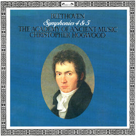 Christopher Hogwood, Beethoven: Symphonies Nos. 4 & 5, 00028948320530