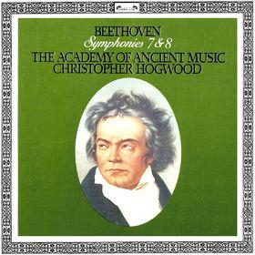 Christopher Hogwood, Beethoven: Symphonies Nos. 7 & 8, 00028948320554