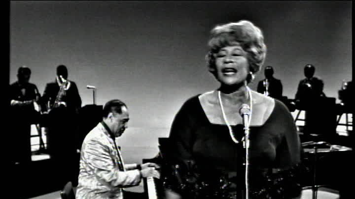 "Duke Ellington und Ella Fitzgerald ""It Don't Mean A Thing (If It Ain't Got That Swing)"" (Ed Sullivan TV-Show, USA 1965)"
