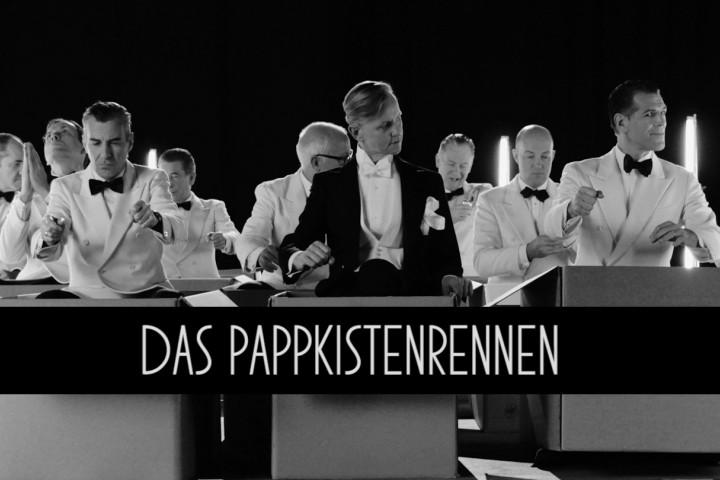 Max Raabe & Palast Orchester - Das Pappkistenrennen