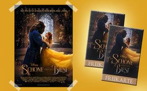 Disney, Gewinnt zum Filmstart von Die Schöne und das Biest Kinokarten und das Filmplakat!