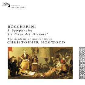 Christopher Hogwood, Boccherini: 3 Symphonies, 00028948320677