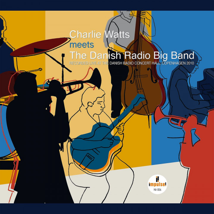 Charlie Watts Meets The Danish Radio Big Band (LP)
