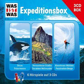 Was ist Was, Was Ist Was 3-CD Hörspielbox Vol.2 -Expeditionsbox, 09783788670214