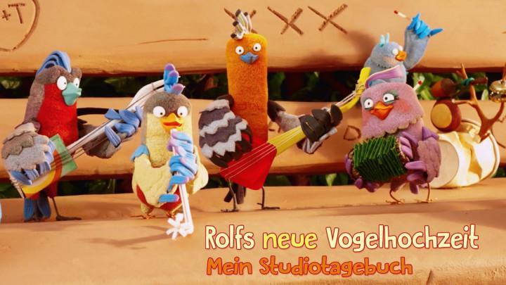 Rolfs neue Vogelhochzeit - Studiotagebuch