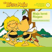 Die Biene Maja, 01: Maja wird geboren, Maja lernt fliegen u.a. (4 Original-Hörspiele zur TV Serie), 00602557587197