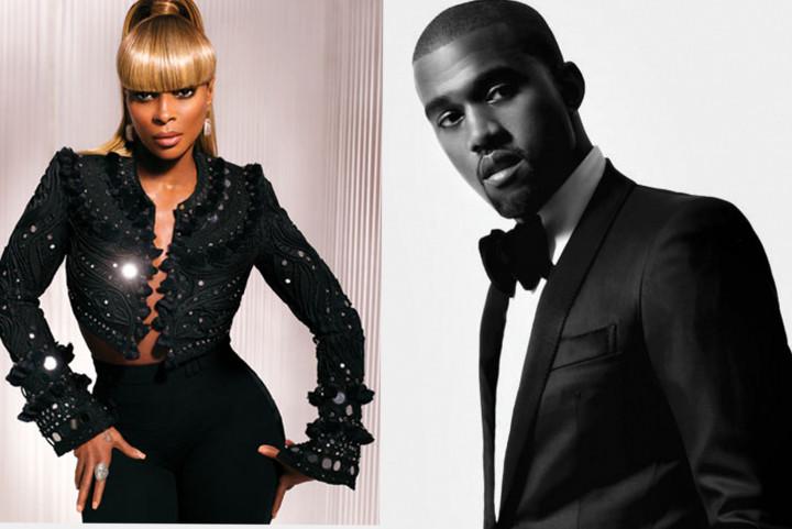 Kanye West und Mary J. Blige