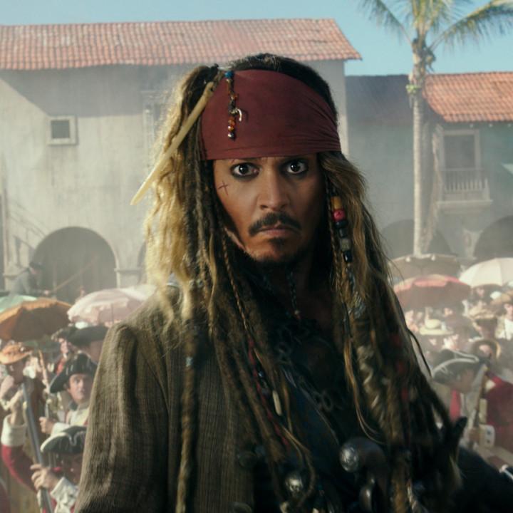 Jack Sparrow Fluch der Karibik Szene