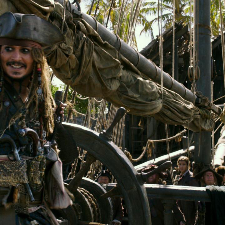Jack Sparrow Szene Fluch der Karibik