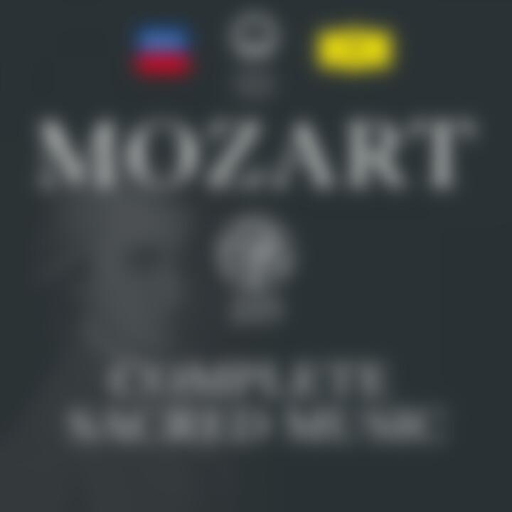 Mozart 225 - Complete Sacred Music
