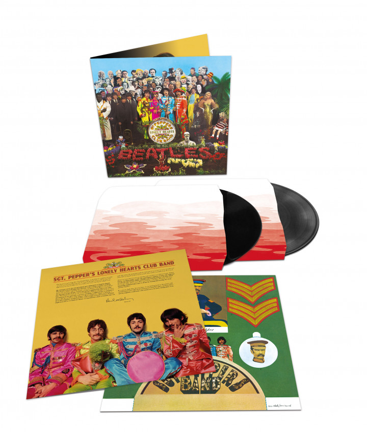 Sgt.Pepper's Lonely Hearts Club Band (50th Anniv., 2LP Deluxe, 180g)