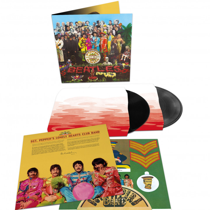 00602557455342 The Beatles Sgt Pepper 2LP